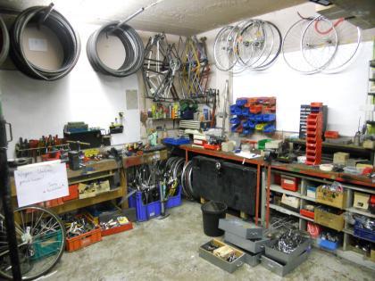 Die Freischrauber* Werkstatt im Umbau