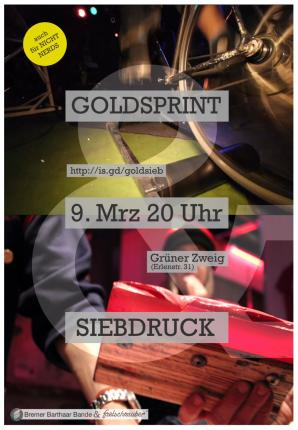 9.3.: GOLDSPRINT meets Barthaar Bande
